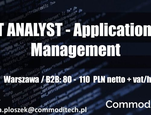 IT Analyst – Applications Management