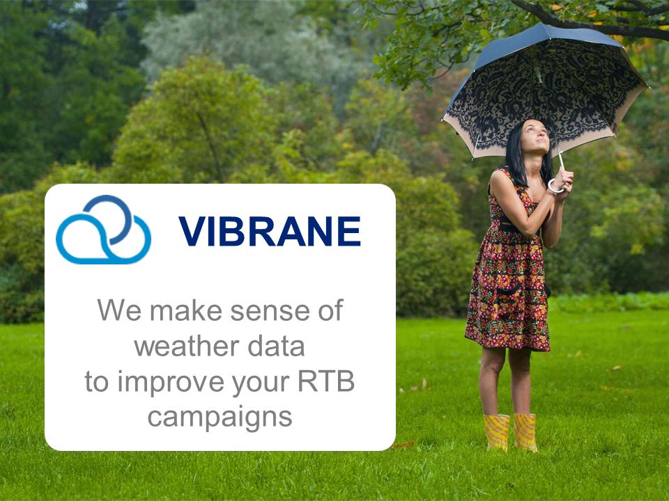 Vibrane – optymalizacja reklam internetowych za pomocą automatycznej analityki pogodowej