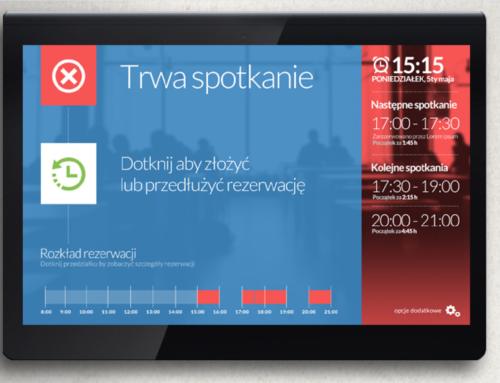 Aplikacja na tablety do rezerwacji sal w biurowcach