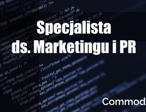 Specjalista ds. Marketingu i PR